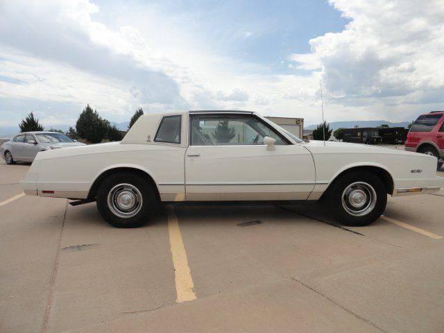 1984 Chevrolet Monte Carlo 2dr Coupe - Penrose CO