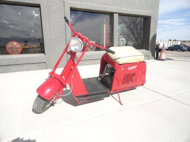 1953 Cushman Deluxe Highlander for sale at Pikes Peak Motor Co in Penrose CO
