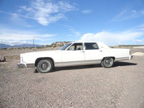 1979 Lincoln Town Car for sale at Pikes Peak Motor Co in Penrose CO