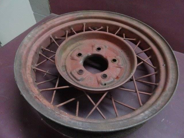 "1932 Ford 18"" Wheel (Loc. A07-A28)  - Penrose CO"