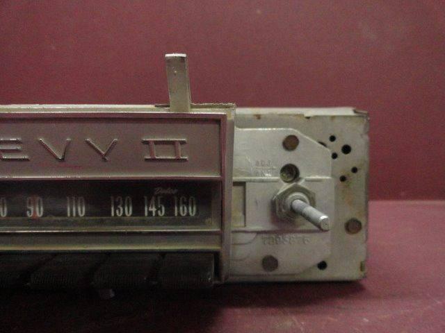 1966 Chevy II Factory Radio (Loc. A01-B19)  - Penrose CO