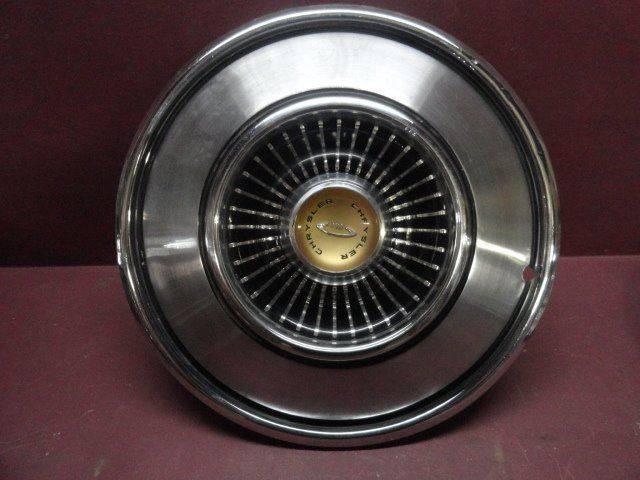 "1965 Chrysler New Yorker 14"" Hub Cap (Loc. U-C26)  - Penrose CO"
