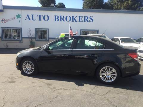 2012 Chevrolet Cruze for sale at Oxnard Auto Brokers in Oxnard CA