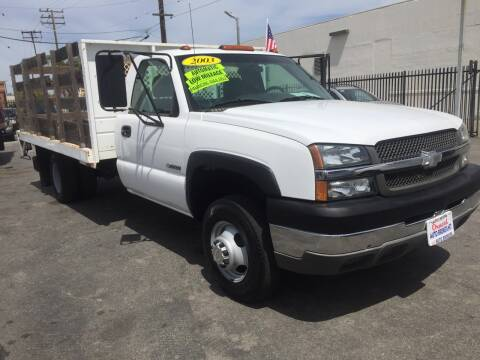 2003 Chevrolet Silverado 3500 for sale at Oxnard Auto Brokers in Oxnard CA