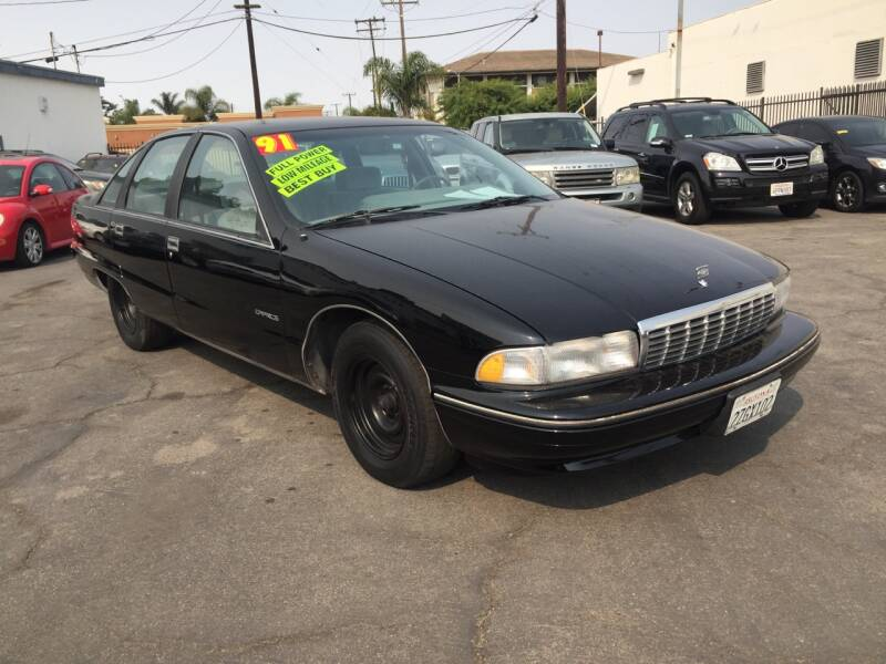 1991 Chevrolet Caprice for sale at Oxnard Auto Brokers in Oxnard CA