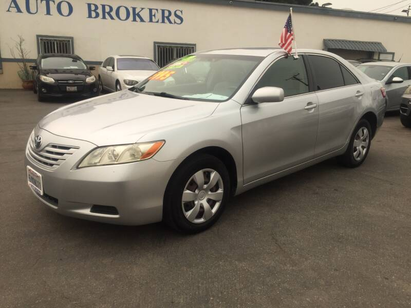 2007 Toyota Camry for sale at Oxnard Auto Brokers in Oxnard CA