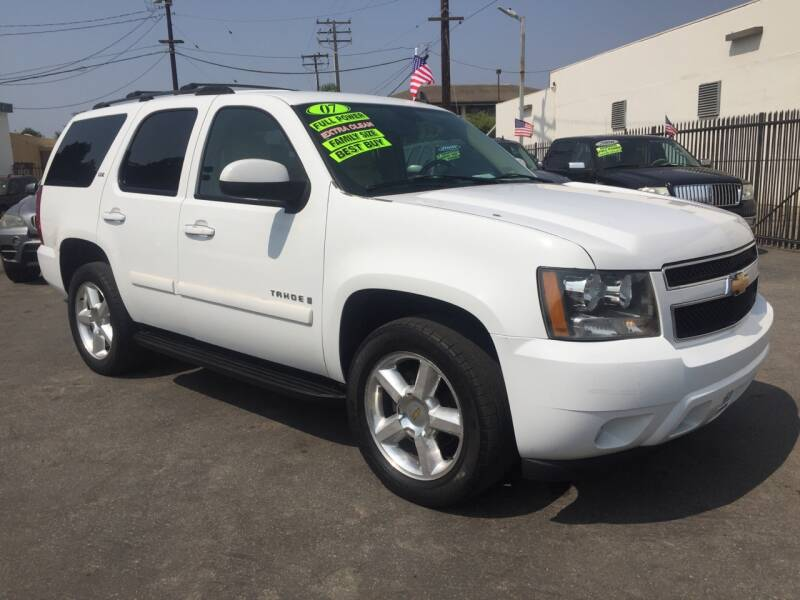 2007 Chevrolet Tahoe for sale at Oxnard Auto Brokers in Oxnard CA