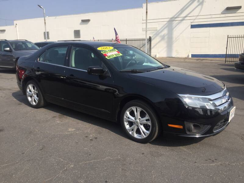 2012 Ford Fusion for sale at Oxnard Auto Brokers in Oxnard CA