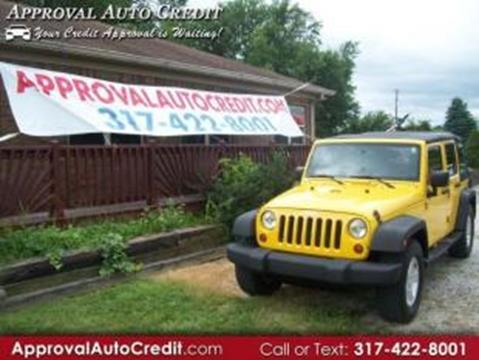 2009 Jeep Wrangler Unlimited for sale in Martinsville, IN