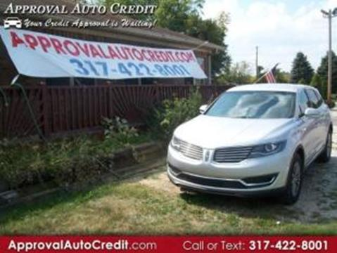 2016 Lincoln MKX for sale in Martinsville IN