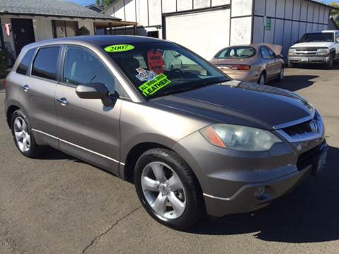 2007 Acura RDX for sale at Freeborn Motors in Lafayette, OR