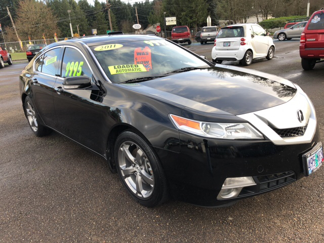 2011 Acura TL for sale at Freeborn Motors in Lafayette, OR