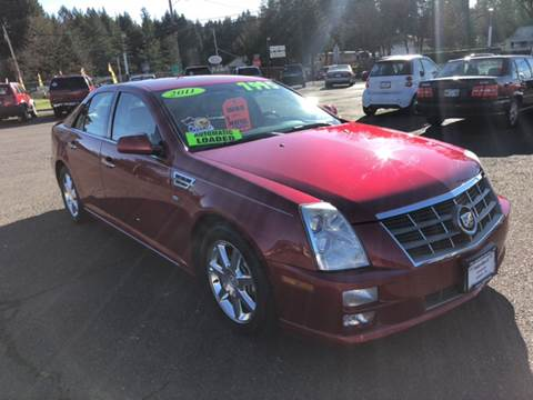 2011 Cadillac STS for sale at Freeborn Motors in Lafayette, OR