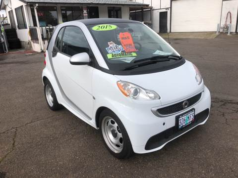 2015 Smart fortwo for sale at Freeborn Motors in Lafayette, OR