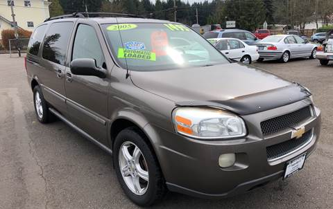 2005 Chevrolet Uplander for sale at Freeborn Motors in Lafayette, OR