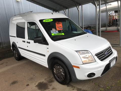 2012 Ford Transit Connect for sale at Freeborn Motors in Lafayette, OR