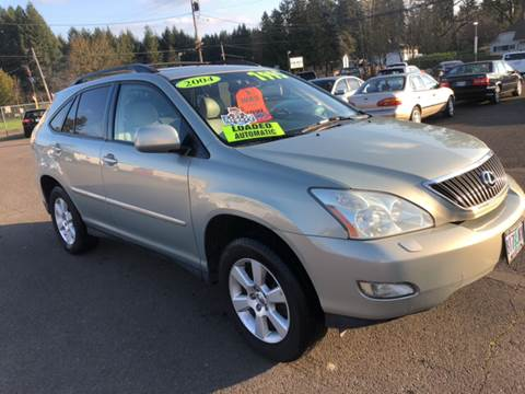 2004 Lexus RX 330 for sale at Freeborn Motors in Lafayette, OR