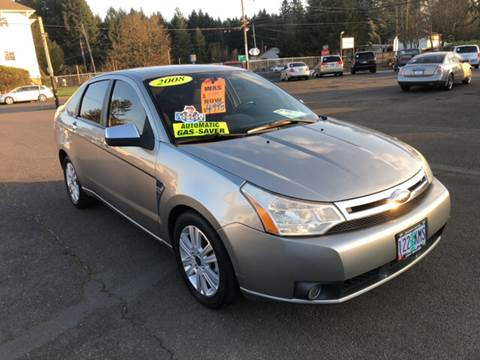 2008 Ford Focus for sale at Freeborn Motors in Lafayette, OR