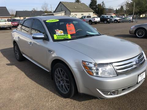 2008 Ford Taurus for sale at Freeborn Motors in Lafayette, OR