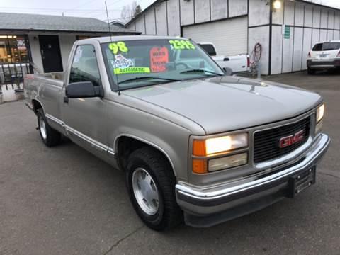 1998 GMC Sierra 1500 for sale at Freeborn Motors in Lafayette, OR