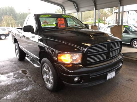 2004 Dodge Ram Pickup 1500 for sale at Freeborn Motors in Lafayette, OR
