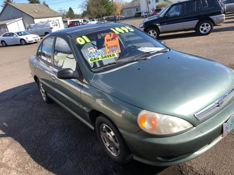 2001 Kia Rio for sale at Freeborn Motors in Lafayette, OR