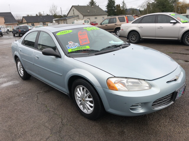 2002 Chrysler Sebring for sale at Freeborn Motors in Lafayette, OR