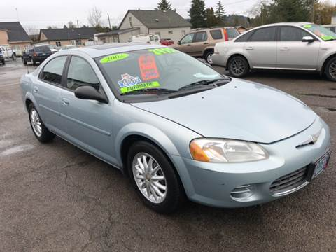 2002 Chrysler Sebring for sale at Freeborn Motors in Lafayette, OR
