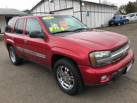 2002 Chevrolet TrailBlazer for sale at Freeborn Motors in Lafayette, OR