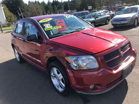 2007 Dodge Caliber for sale at Freeborn Motors in Lafayette, OR