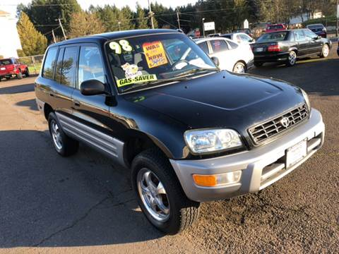 1998 Toyota RAV4 for sale at Freeborn Motors in Lafayette, OR