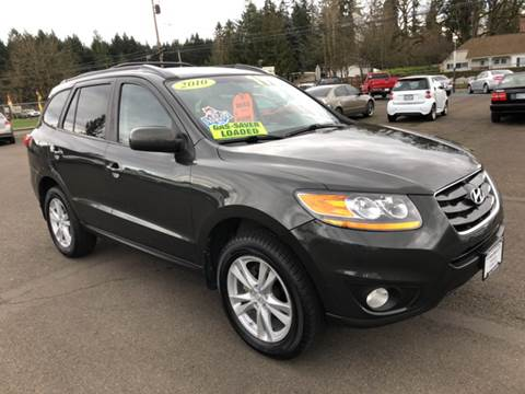 2010 Hyundai Santa Fe for sale at Freeborn Motors in Lafayette, OR
