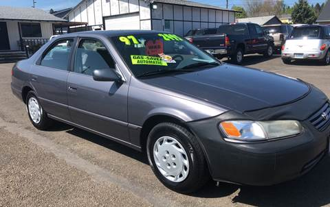 1997 Toyota Camry for sale at Freeborn Motors in Lafayette, OR