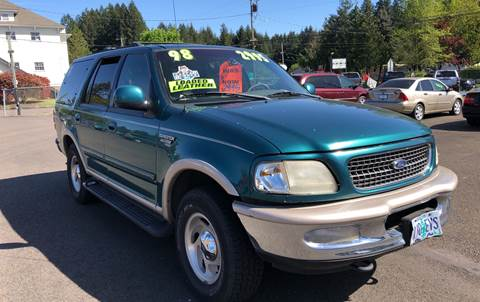 1998 Ford Expedition for sale at Freeborn Motors in Lafayette, OR