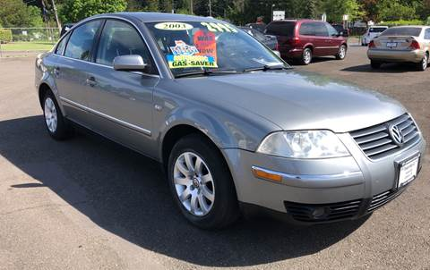 2003 Volkswagen Passat for sale at Freeborn Motors in Lafayette, OR
