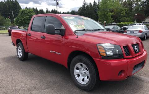 2007 Nissan Titan for sale at Freeborn Motors in Lafayette, OR