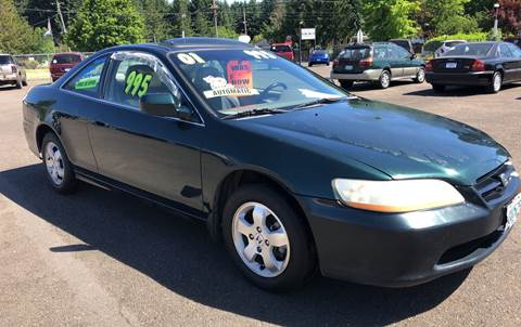 2001 Honda Accord for sale at Freeborn Motors in Lafayette, OR