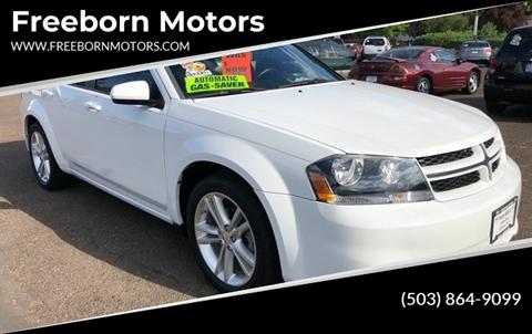 2013 Dodge Avenger for sale at Freeborn Motors in Lafayette, OR