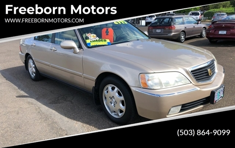 2000 Acura RL for sale at Freeborn Motors in Lafayette, OR