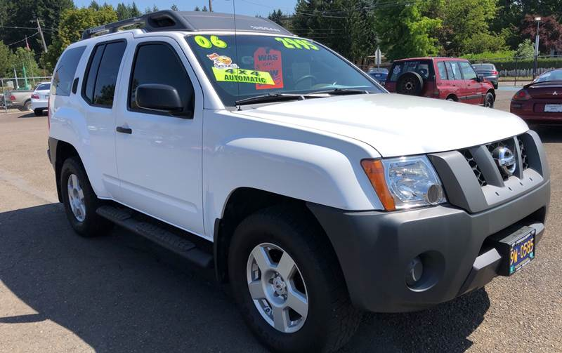2006 Nissan Xterra S 4dr Suv 4wd W Automatic In Lafayette Or