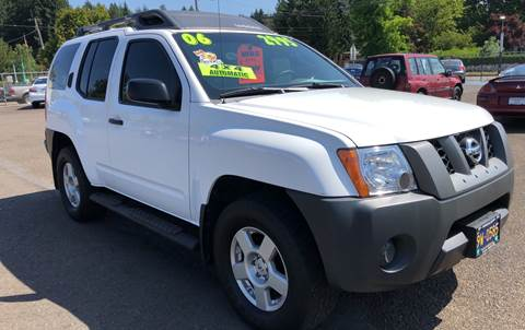 2006 Nissan Xterra for sale at Freeborn Motors in Lafayette, OR