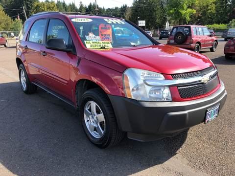 2005 Chevrolet Equinox for sale at Freeborn Motors in Lafayette, OR