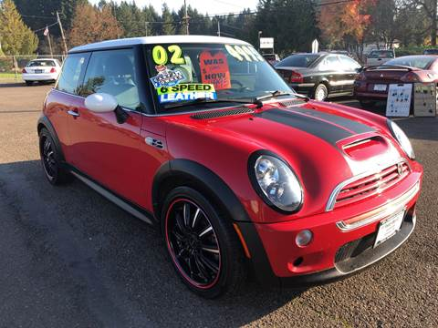 2002 MINI Cooper for sale at Freeborn Motors in Lafayette, OR