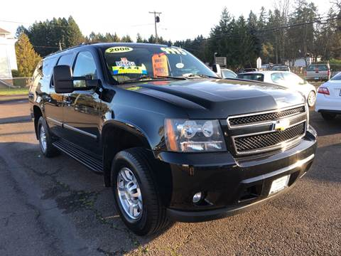2008 Chevrolet Suburban for sale at Freeborn Motors in Lafayette, OR