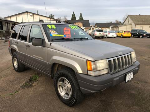 1998 Jeep Grand Cherokee for sale at Freeborn Motors in Lafayette, OR