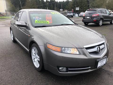 2008 Acura TL for sale at Freeborn Motors in Lafayette, OR
