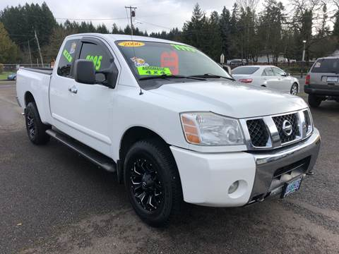 2006 Nissan Titan for sale at Freeborn Motors in Lafayette, OR
