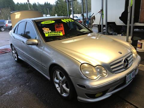 2005 Mercedes-Benz C-Class for sale at Freeborn Motors in Lafayette, OR