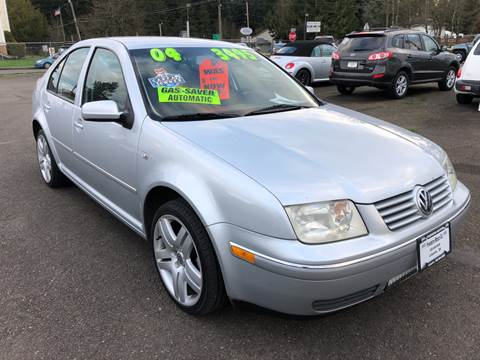 2004 Volkswagen Jetta for sale at Freeborn Motors in Lafayette, OR