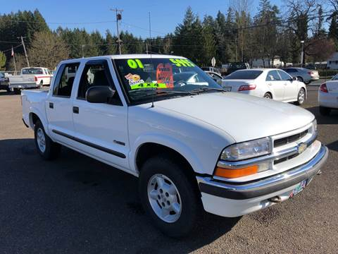 2001 Chevrolet S-10 for sale at Freeborn Motors in Lafayette, OR